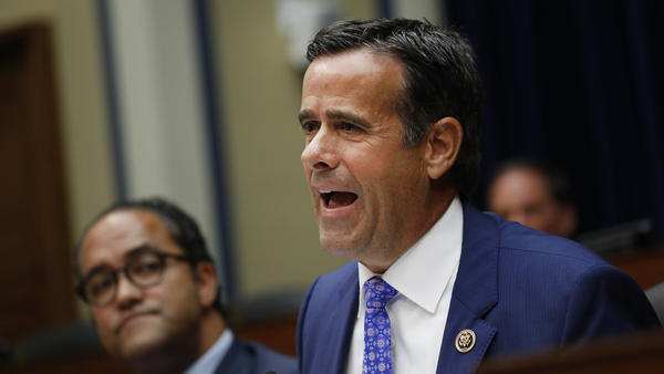 Rep. John Ratcliffe, R-Texas, is President Trump's pick to be the next Director of National Intelligence.