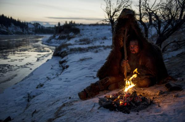 Leonard DiCaprio stares down a treacherous winter wasteland in the new film <em>The Revenant</em>, directed by Alejandro Gonzalez Iñarritu.