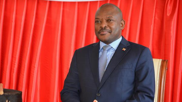 Burundi's President Pierre Nkurunziza in 2016. A referendum could extend his time in office for decades.