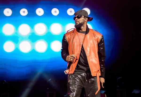 R. Kelly onstage in Brooklyn in September 2015.