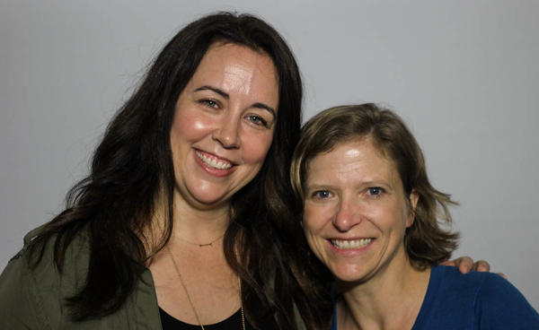 """Kristin Sollars (left) and Marci Ebberts say nursing is more than just a job. """"Sometimes I wonder why everyone in the world doesn't want to be a nurse,"""" Sollars says."""