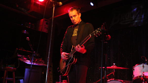Ted Leo performs in Oct. 2010 in New York.