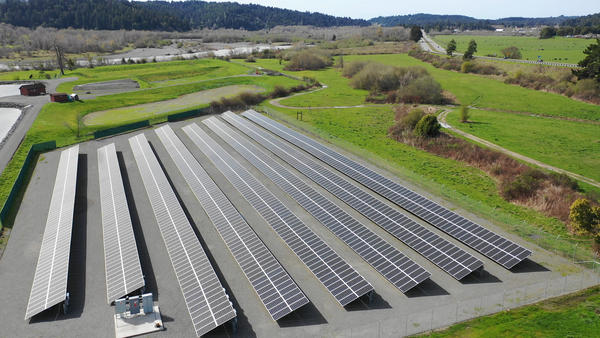 The Blue Lake Rancheria microgrid powers a number of buildings on the reservation and helped provide necessary energy during county-wide power outages.