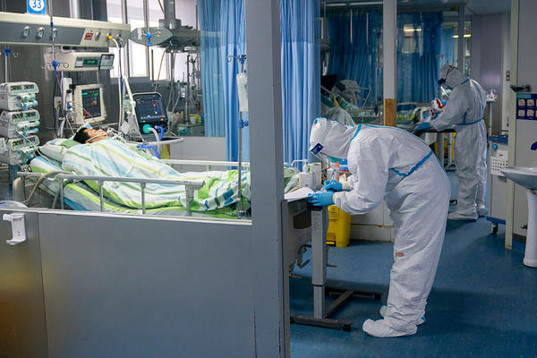 As the death toll from the new coronavirus tops 100, hospitals in Wuhan, China, are attending to many patients with confirmed or suspected cases of the illness. Public health officials are working to prevent further spread of the outbreak in China and globally.