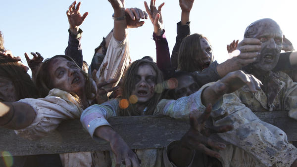 Today's stories about disease — like <em>The Walking Dead</em> with its zombies — tend to be rooted in political and social realities.