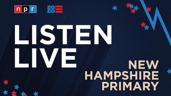 Listen to NPR special coverage of the New Hampshire primary live beginning at 8 p.m. ET.