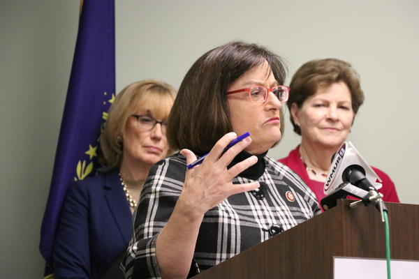 U.S. Rep. Annie Kuster, D-NH, says the delegation is pushing for greater federal funding to respond to the coronavirus natiowide - as well as any cases in N.H.