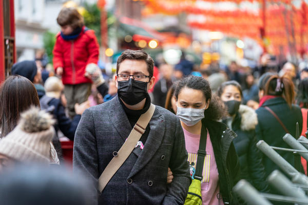 Health officials warn facemasks won't help those who are healthy from contracting COVID-19. Rather, those who Rather, those showing symptoms should wear them, to prevent the spread of disease.