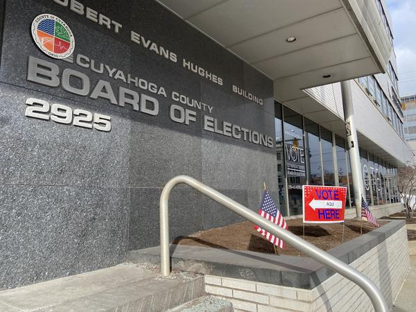 The Cuyahoga County Board of Elections decided not to move two downtown Cleveland polling places near the St. Patrick's Day parade route, but 11 polling places in the suburbs with other holiday-related conflicts were moved.