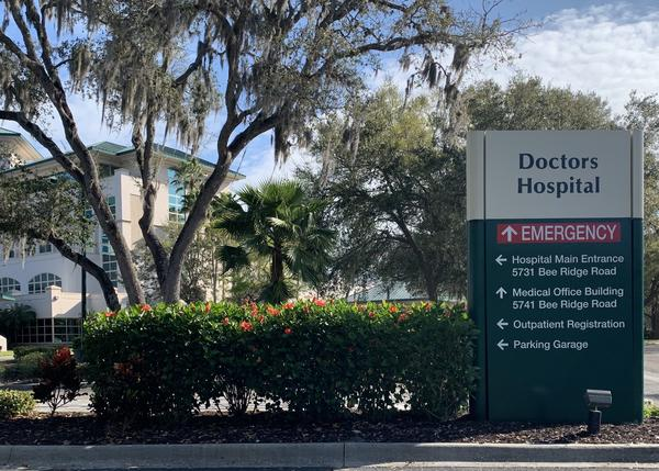 A Manatee County man in his 60s tested positive for coronavirus infection over the weekend.