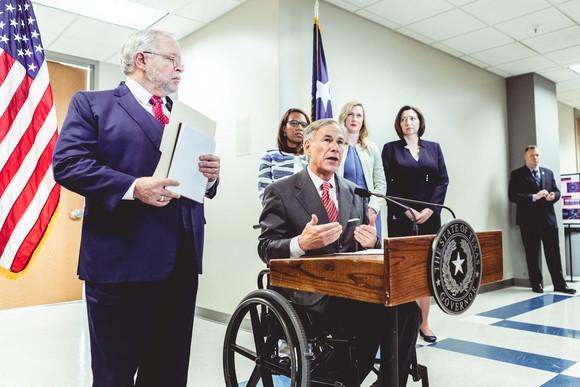 Texas Governor Greg Abbott gives an update on the state's ability to test for COVID-19.