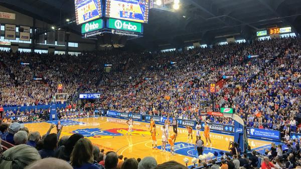 """The Kansas Jayhawks men's basketball team is currently ranked No. 1 in the nation. The school's athletics director says that if other schools have laws about endorsement deals and Kansas does not, KU would be """"at a disadvantage."""""""