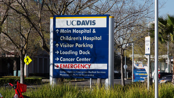 Sacramento County includes the University of California, Davis Medical Center, which housed the first U.S. case of a patient getting the new coronavirus through community spread.