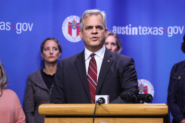 Austin Mayor Steve Adler announces that he's declared a local disaster and has issued an order effectively canceling SXSW this year.