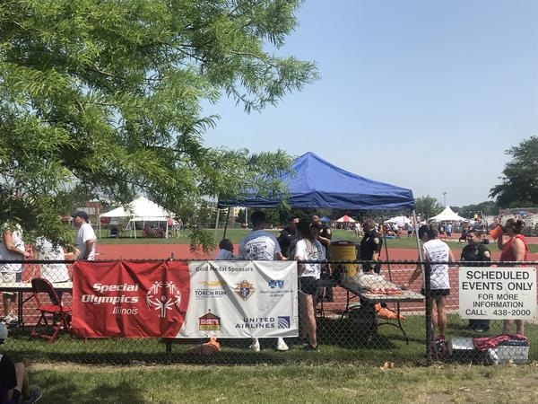 Special Olympics Illinois schedules numerous events for those with developmental disavbilities, such as the one pictured. The organization had planned to bring several thousand people to Bloomington Normal this weekend.