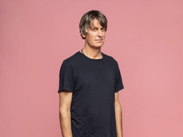 """Best known as the frontman of '90s underground powerhouse Pavement, Stephen Malkmus explores folk on his new album <em>Traditional Techniques</em>. """"It's almost scary, the naked quiet,"""" he says."""
