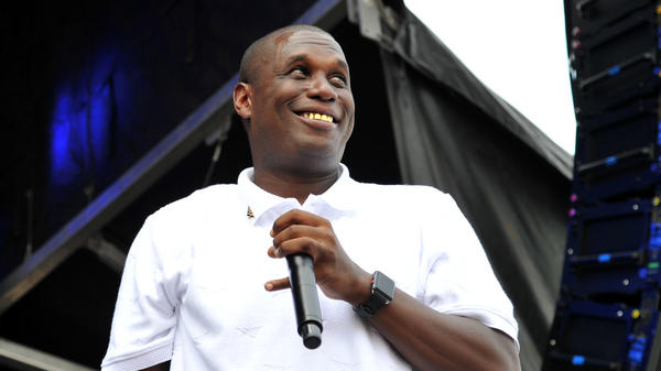 Jay Electronica performs during the 2018 Governors Ball Music Festival in New York City.