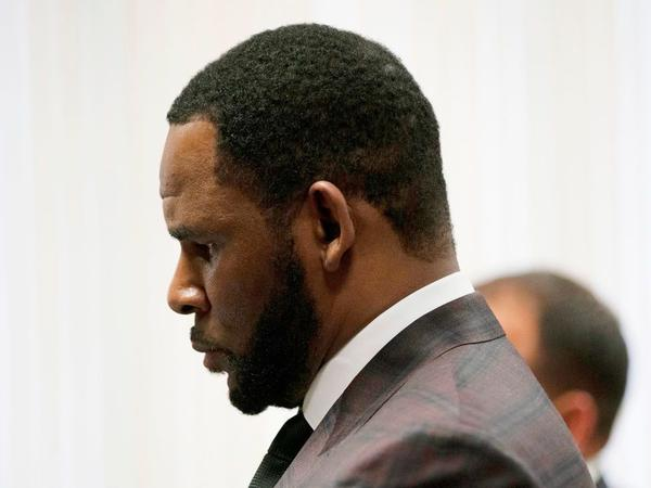 Singer R. Kelly, appearing in court in Chicago in June 2019.