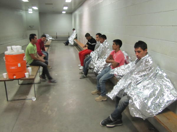 Cold freezers at a detention facility.