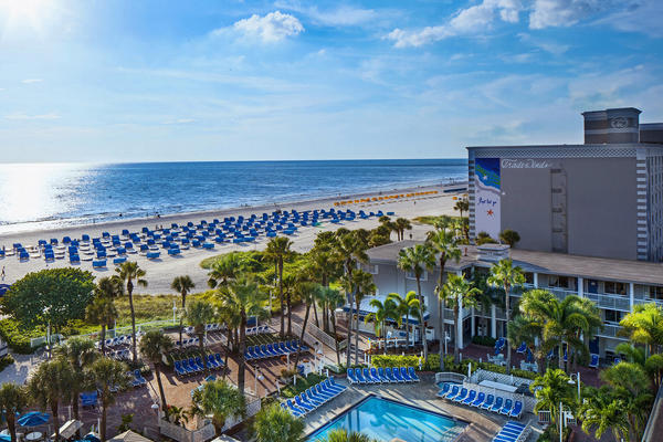 March and April are usually busy months for TradeWinds Island Resort in St. Pete Beach.