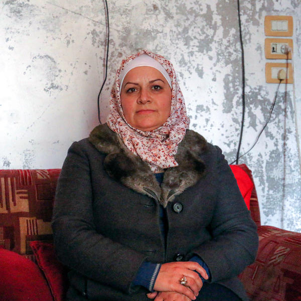 """""""It is a very, very sad thing when my son says to me, 'Mum, I don't want to die,'"""" says Etab Hadithi."""