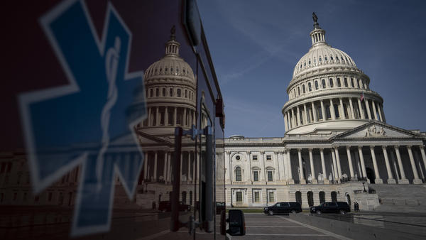 The furious pace of proposals comes as the spreading virus continues to pose a direct threat to Capitol building operations, as several lawmakers' offices remain closed as a result of at least two coronavirus cases among current D.C-based Hill staffers.