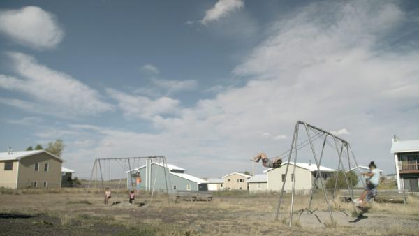 The Blackfeet Reservation in Browning, Montana