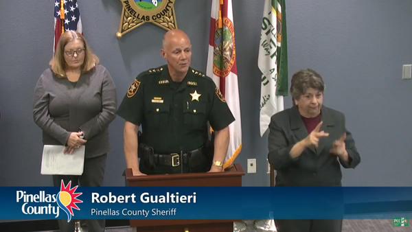 Pinellas County Sheriff Bob Gualtieri said the county is prepared to enforce crowd, restaurant restrictions.