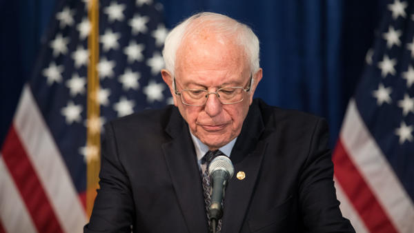 "Democratic presidential candidate Sen. Bernie Sanders will ""assess"" his campaign in the coming days and weeks, according to his campaign manager. He suffered another string of big defeats in primaries on Tuesday."