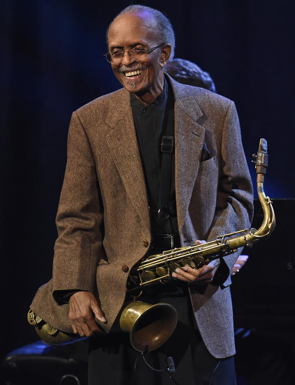 Jimmy Heath, seen here performing onstage during Jazz At Lincoln Center's 30th Anniversary Gala, died Jan. 19, 2020.