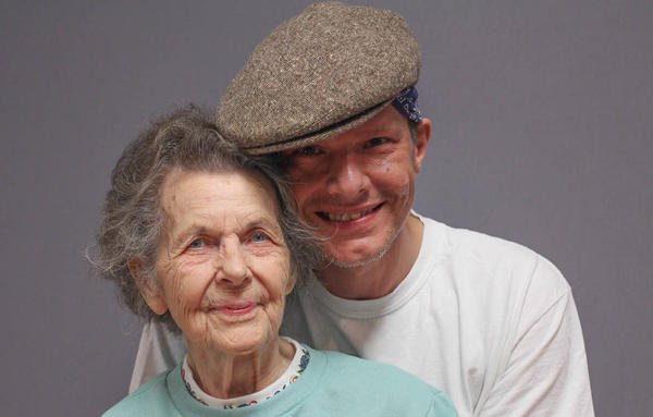 "Retired nurse Ruth Owens, left, told her grandson James Taylor why being a nurse ""is the most rewarding profession,"" at their StoryCorps recording in April 2019, in Cookeville, Tenn."