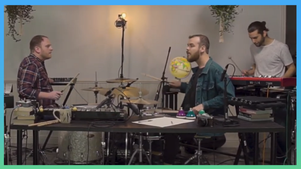 """The Kraken Quartet entered the 2020 Tiny Desk Contest with its entry """"Chance the Dog (The Song)"""""""