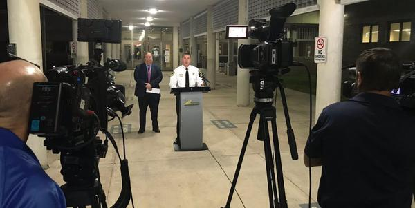 Hillsborough County Sheriff Chad Chronister announced the inmate releases at a Thursday morning press conference.