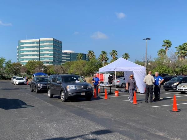 On its first day offering drive-thru coronavirus screening, BayCare said 1,329 patients showed up at its seven sites, with 717 qualifying to be tested.
