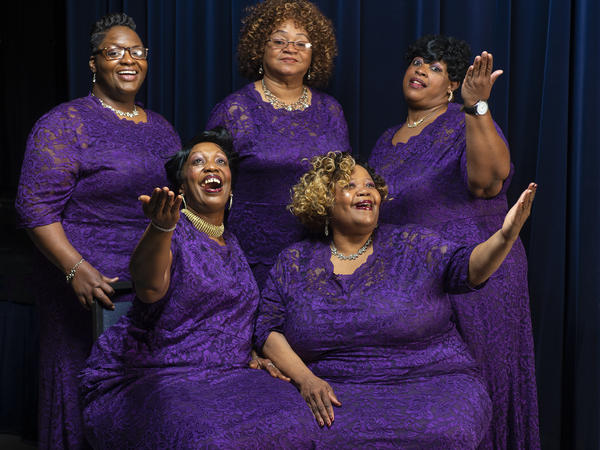 For over 50 years, the Legendary Ingramettes were led by Maggie Ingram. Now led by her daughter Almeta Ingram-Miller, the group's new album is called <em>Take A Look in the Book.</em>