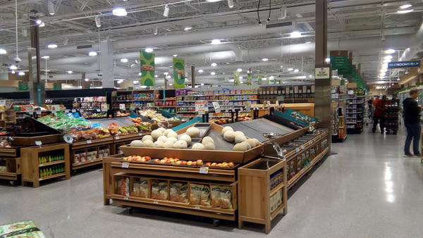 Fresh produce was sparse Saturday morning, March 14, at the Deerwood Lakes Publix.