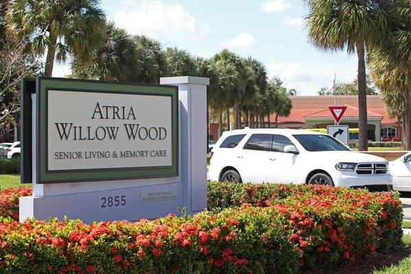Atria Willow Wood assisted living facility in Fort Lauderdale.