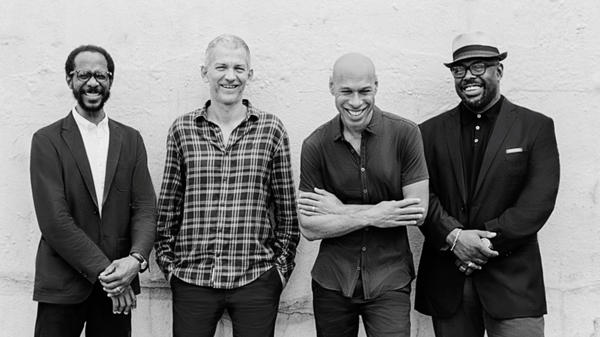 The Joshua Redman Quartet. From left: drummer Brian Blade, pianist Brad Mehldau, saxophonist Joshua Redman and bassist Christian McBride.