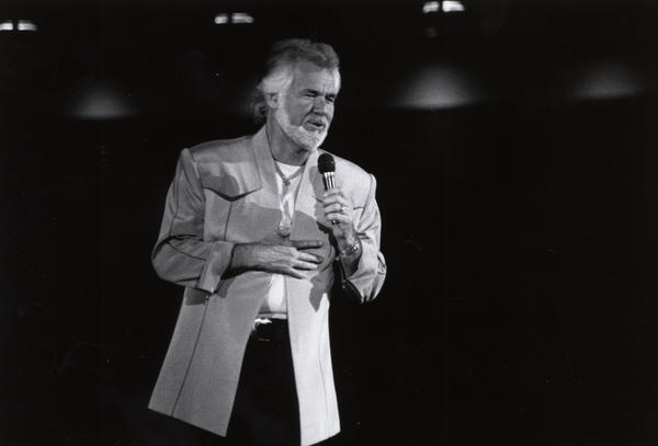 Houston native Kenny Rogers. Rogers died on Friday at the age of 81.