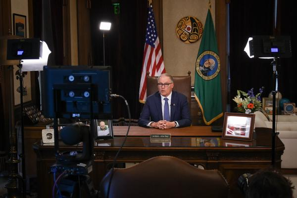 Monday night, WA Gov. Jay Inslee addressed the state and issued a 'stay-at-home' order in a further attempt to slow the spread of the coronavirus outbreak