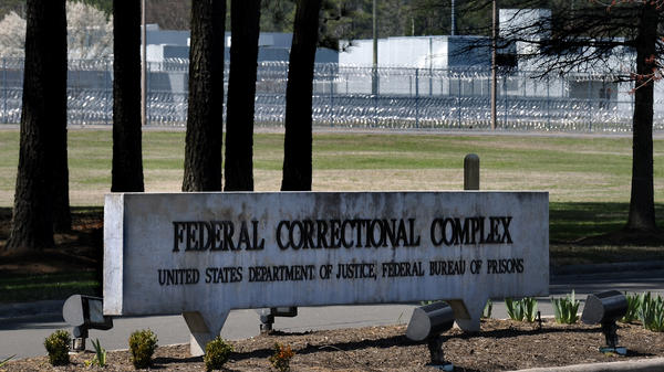 The Federal Bureau of Prisons Correctional Complex in Butner, N.C, is pictured on April 1, 2014. Advocates are pushing for protections for vulnerable inmates amid the coronavirus pandemic.