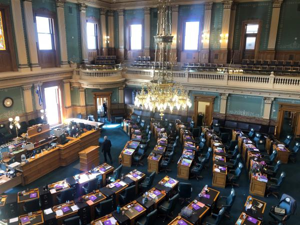 The Colorado House of Representatives adjourned on March 14. The recess is expected to go beyond Monday.