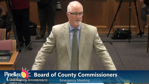 County administrator Barry Burton says many residents are staying home and abiding by social distancing guidelines, but stronger measures are needed.