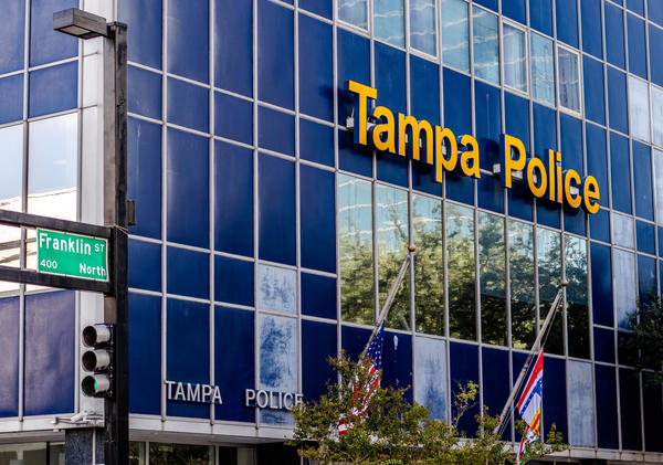 A 26-year-old Tampa Police officer has tested positive for COVID-19. Thirty-five other officers are in quarantine and nine are awaiting test results.
