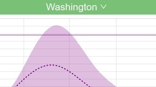 Detail of hospital resource demand modeling for Washington State