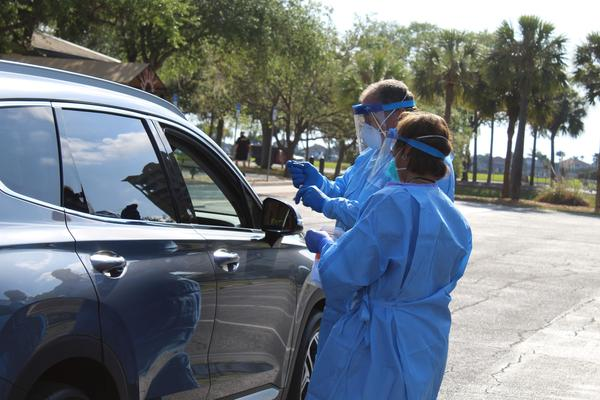 Testing will take place at the Bradenton Area Convention Center in Palmetto.