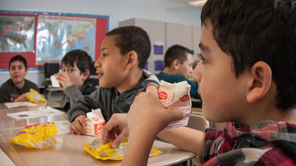 During a typical school day, students in Akron Public Schools are provided nearly 26,000 meals for breakfast and lunch.