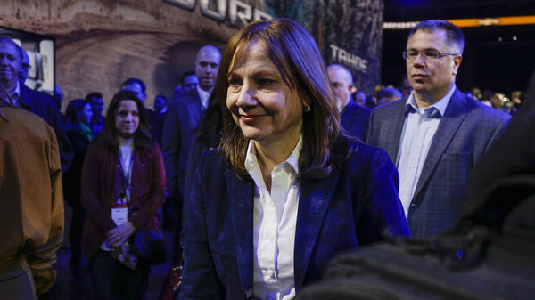 President Trump suggested a breakdown in negotiations with General Motors CEO Mary Barra over manufacturing ventilators.
