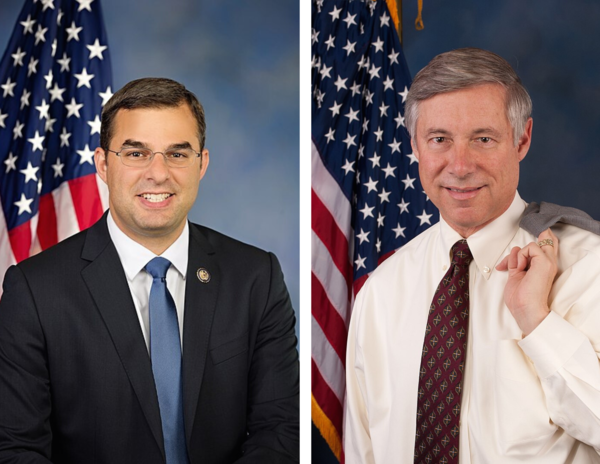 Both Independent Congressman Justin Amash (L) and Republican Congressman Fred Upton (R) face tough re-election campaigns in their West Michigan districts.