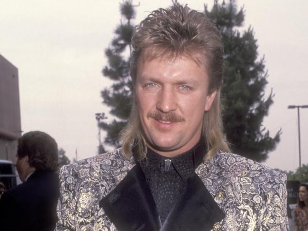 Joe Diffie, photographed attending the 27th Annual Academy of Country Music Awards on May 29, 1992.